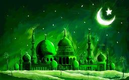 Ramadan Kareem (Generous Ramadan) background. Illustration of Ramadan Kareem (Generous Ramadan) background Royalty Free Stock Photos