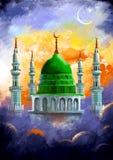 Ramadan Kareem (Generous Ramadan) background. Illustration of Ramadan Kareem (Generous Ramadan) background Royalty Free Stock Photo