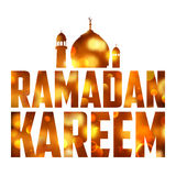 Ramadan Kareem (Generous Ramadan) background Royalty Free Stock Photography