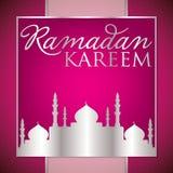Ramadan Kareem Generous Ramadan. Label Ramadan Kareem Generous Ramadan card in vector format Stock Photo