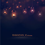Ramadan Kareem. Greeting background, eps 10 Royalty Free Stock Images