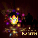 Ramadan Kareem, greeting background Stock Photos