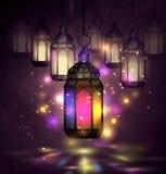 Ramadan Kareem, greeting background Stock Images