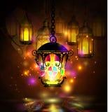 Ramadan Kareem, greeting background Stock Image