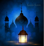 Ramadan Kareem, greeting background royalty free illustration