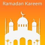 Ramadan Kareem greeting banner Stock Photography