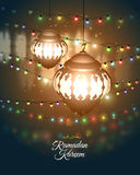 Ramadan Kareem greeting Royalty Free Stock Photo