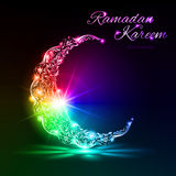 Ramadan Kareem greeting card Stock Photography