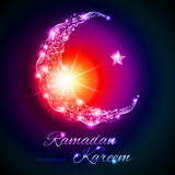 Ramadan Kareem greeting card Royalty Free Stock Images