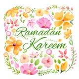 Ramadan Kareem greeting Royalty Free Stock Images