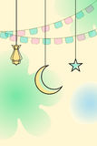 Ramadan Kareem ( Greetings for Ramadan) background Royalty Free Stock Photography