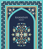 Ramadan Kareem-Grußkarte Lizenzfreie Stockfotos