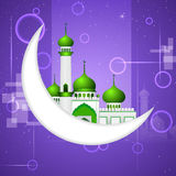 Ramadan Kareem ( Happy Ramadan) background Stock Image