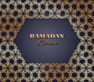 Ramadan Kareem-Hintergrund Lizenzfreie Stockfotografie
