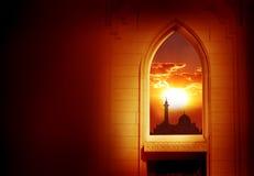 Ramadan Kareem-Hintergrund Lizenzfreies Stockfoto