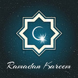 Ramadan Kareem Illustrazione Fotografie Stock Libere da Diritti