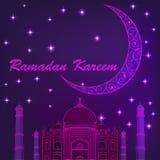 Ramadan Kareem islamic background. Eid mubarak. Islam holly month. . Ramadan greeting template. Arabic design stock illustration