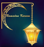 Ramadan Kareem islamic background. Eid mubarak. Royalty Free Stock Photography