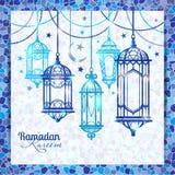 Ramadan Kareem. Islamic background. Royalty Free Stock Photos