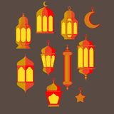 Ramadan Kareem - Islamic Holy Nights, Theme Design background, Ramadan latern, saint fest, arabian and turk religion culture set,. Ramadan Kareem - Islamic Holy Stock Photo
