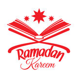Ramadan Kareem, Islamic Koran. Ramadan Kareem greeting card with Islamic Koran. Illustration for muslim holy month Ramadan. Vector Stock Photos