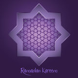 Ramadan Kareem Islamic Star Ornament Background Royalty Free Stock Image