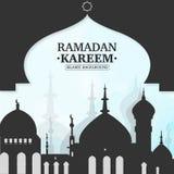 Ramadan-kareem islamischer Hintergrund lizenzfreie abbildung