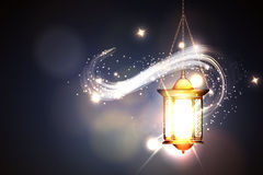 Ramadan Kareem Lantern Stock Photo
