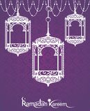 Ramadan Kareem Lanterns Royalty Free Stock Image