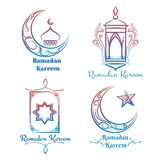 Ramadan Kareem logo design Stock Images