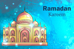 Ramadan Kareem Mosque Stock Photography