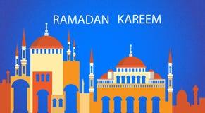 Ramadan Kareem Mosque Muslim Religion Holy-Maand Stock Afbeeldingen