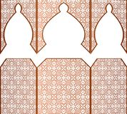 Vector ramadan kareem muslim arab ethnic pattern royalty free illustration