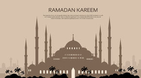 Ramadan Kareem Muslim Religion Holy Month Royalty-vrije Stock Foto