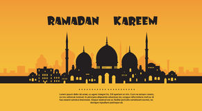 Ramadan Kareem Muslim Religion Holy Month-Banner Stock Foto