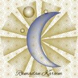 Ramadan kareem Poster. Arabian event Ramadan Kareem Poster Stock Photo