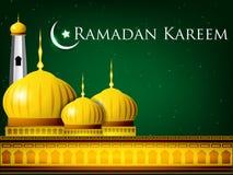 Ramadan Kareem or Ramazan Kareem Stock Image