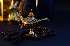 Ramadan Kareem, salutation de fête photo libre de droits