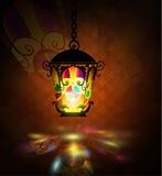 Ramadan Kareem som hälsar bakgrund royaltyfri illustrationer
