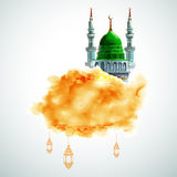 Ramadan Kareem tło Zdjęcie Stock