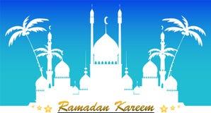 Ramadan Kareem tło Zdjęcia Stock