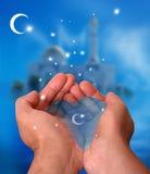 Ramadan Kareem tło Fotografia Royalty Free