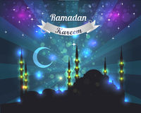 Ramadan Kareem Vector Design Royalty Free Stock Image