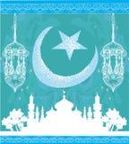 Ramadan Kareem Vector Design Imágenes de archivo libres de regalías