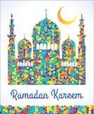 Ramadan Kareem. Vector Illustration Royalty Free Stock Photos