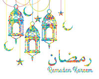Ramadan Kareem. Vector Illustration Stock Image