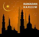 Ramadan Kareem royalty free illustration