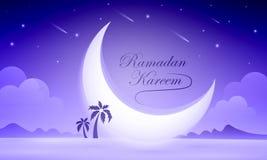ramadan korthälsning Royaltyfri Foto