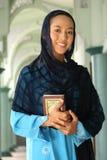 ramadan kvinna för islam royaltyfria bilder