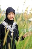 ramadan kvinna för muslim royaltyfria bilder